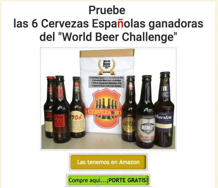 6 cervezas box